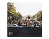 Parade, Union Station to Blair House, President Kennedy Fine Art Print