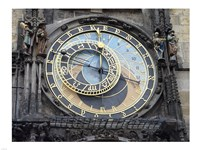 Prague - Astronomical Clock Detail Framed Print
