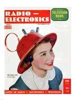 Radio Electronics Cover June 1949 - various sizes