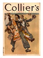 Reuterdahl Colliers Cover June 20 1908 - various sizes