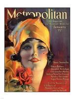 Rolf Armstrong Metropolitan Jan 1919 Fine Art Print