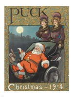 Santa 1904 Puck Cover - various sizes
