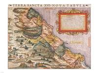 Sebastian Munster, Ptolemy. Terra Sancta XVI - various sizes, FulcrumGallery.com brand