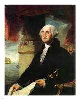 Stuart George Washington Constable 1797 Fine Art Print