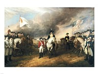 Surrender of Lord Cornwallis Fine Art Print