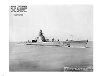 USS Whale Early US  Submarine Fine Art Print