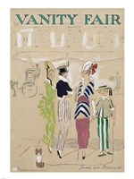 Vanity Fair June 1914 Cover Fine Art Print