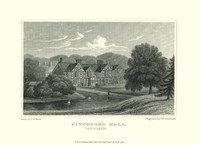 """Pitchford Hall by J. p. Neale - 13"""" x 10"""""""