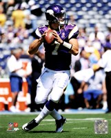 Christian Ponder 2011 Action Fine Art Print