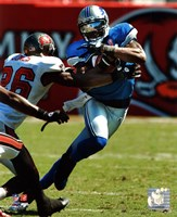 Calvin Johnson 2011 Action Fine Art Print