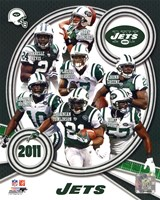 New York Jets 2011 Team Composite Fine Art Print