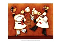 "Chef's Good Life by Sydney Wright - 19"" x 13"", FulcrumGallery.com brand"