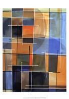 "Counter Balance II by James Burghardt - 13"" x 19"""