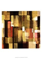 Modular Tiles I Framed Print