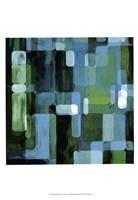 Modular Tiles II Framed Print