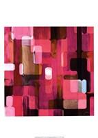 Modular Tiles IV Framed Print