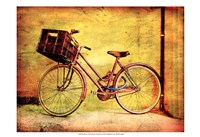 "19"" x 13"" Bicycle Art"