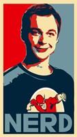 """The Big Bang Theory - nerd - 11"""" x 17"""""""