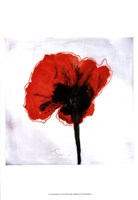 """Red Drops VI by Open Journey - 13"""" x 19"""""""