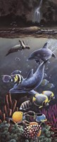 "Underwater Splendor up close by T.C. Chiu - 8"" x 20"""
