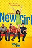 New Girl Wall Poster