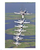FA-18 Hornets - various sizes, FulcrumGallery.com brand
