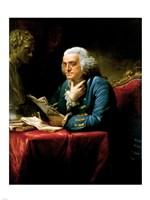Benjamin Franklin 1767 Fine Art Print