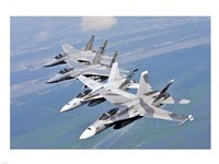 Two F-A-18 Hornets - various sizes, FulcrumGallery.com brand