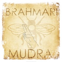 Brahmari Mudra (Humming Bee) Framed Print
