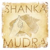 Shanka Mudra (Conch) Framed Print