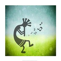 Kokopelli Music II Fine Art Print