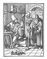Holbein Dance of Death II Fine Art Print