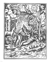 Holbein Dance of  Death I Fine Art Print