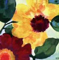 Anemone Garden I Fine Art Print