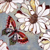 Vintage Butterfly II Fine Art Print
