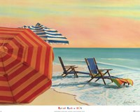 """Sit, Stay & Relax by Robin Renee Hix - 24"""" x 19"""""""