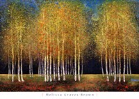 Golden Grove Fine Art Print