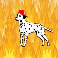 Firefighter Dog - various sizes