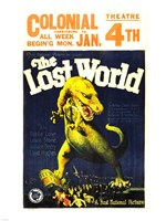 The Lost World Film Poster, 1925 Fine Art Print