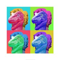 Raptor Marilyn Framed Print