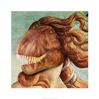 Birth of Raptor Framed Print