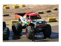 Bad News Monster Truck - various sizes, FulcrumGallery.com brand