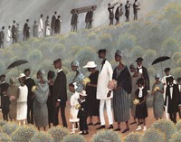Funeral March Fine Art Print