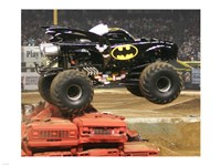 Batman Monster Truck Fine Art Print