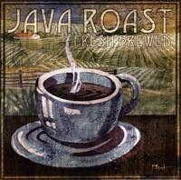 "Java Roast by Paul Brent - 12"" x 12"", FulcrumGallery.com brand"