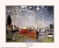 """Argenteuil by Claude Monet - 10"""" x 8"""""""