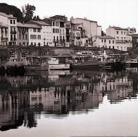 "Port Vendres by Rita Crane - 12"" x 12"""