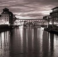 """Golden Ponte Vecchio by Rita Crane - 12"""" x 12"""""""