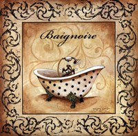 """Classic Baignoire by Gregory Gorham - 12"""" x 12"""""""