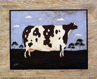 """The Cow I by T.C. Chiu - 10"""" x 8"""""""